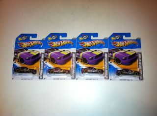 Hot Wheels Lot of 4 2012 2007 Ford Shelby GT 500 Mustangs