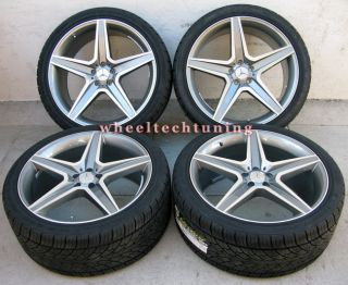 Benz Wheel and Tire Package Rims Fit MBZ ML350 ML500 and ML550