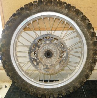 YZ 250F 125 250 450F EXCEL Rear Wheel Rim Hub 19 99 05 06 08 09 10 11