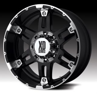 20 inch XD Spy Black Wheels Rims 6x135 Ford F150 18