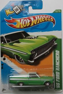 2012 Hot Wheels Treasure Hunts 65 Ford Ranchero 12 15