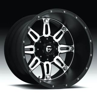 Hostage Wheel Set XD Black 24x11 Rims 24inch Black Machined