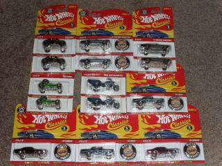 64 Scale Hot Wheels Classics Series 4 Set of 14