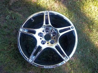 17 x 7 Chrome Momo Custom Wheel Rim 5x114 3 Type 325