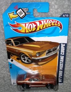 NIP HOT WHEELS 67 1967 FORD MUSTANG COUPE MUSCLE MANIA FORD 12 SERIES