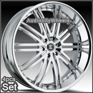 24 inch Wheels Rims Chevy Ford Escalade GMC QX56 Nissan
