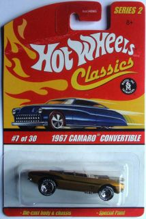 Hot Wheels Classics Series 2 1967 Camaro Convertible