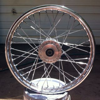 21 inch Chrome Spoke Sportster Wheel for Harley