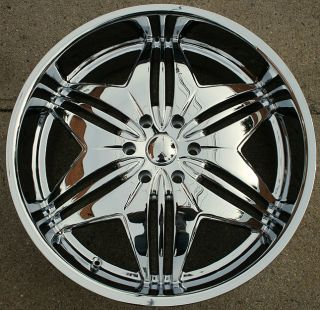 RVM 717 24 Chrome Rims Wheels Tahoe Avalanche Escalade