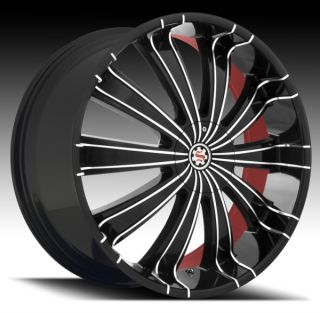 26 Black Rims Tires 5x139 Dodge RAM 1500 Durango New 305 30 26