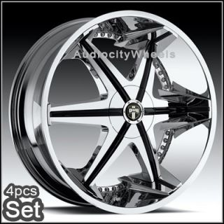 26inch Wheels Rims Chevy Tahoe Escalade Ford RAM