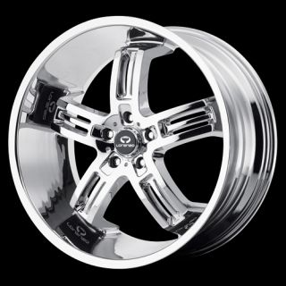 22 Lorenzo WL26 Set of 4 Wheels Rims Blow Out BMW Cadillac cts Camaro