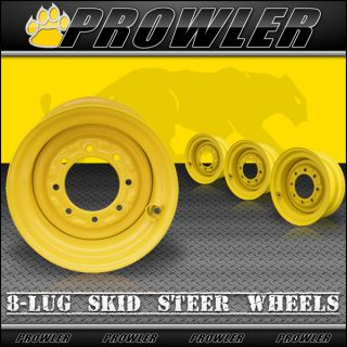 New Holland Skid Steer Wheels Rims 8 25x16 5 10x16 5