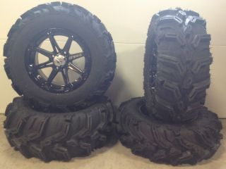 MSA Diesel 14 ATV UTV Wheels 27 Mud Lite XTR Tires Sportsman RZR