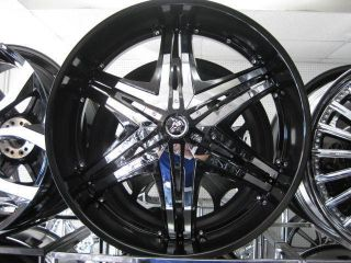 30 DIABLO ELITE WHEELS TIRE TIS LEXANI 26 24 FOOSE ASANTI FORGIATO DUB
