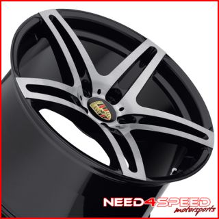 Turbo GTS Roderick RW5 Machined Black Concave Wheels Rims