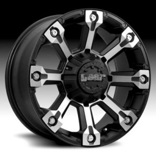 ALLOY BACKCOUNTRY BLACK W 33X12 50X18 TOYO OPEN COUNTRY MT WHEELS RIMS