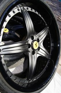 Ferrari F430 Wheels Tires Rims 21 20 asanti Must See Mint Condition