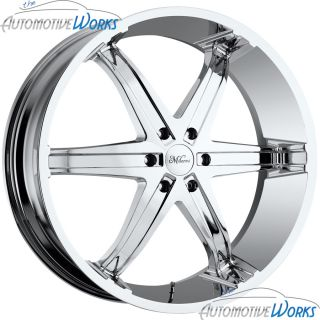 20x9 Milanni Kool Whip 6 6x139 7 6x5 5 30mm Chrome Wheels Rims Inch 20