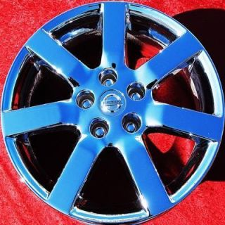 NEW 17 NISSAN MAXIMA OEM CHROME WHEELS RIMS ALTIMA 240SX QUEST 62422