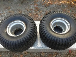 HONDA 200M 200E 200ES PAIR rear rims wheels tires CARLISLE 25 X 12 9
