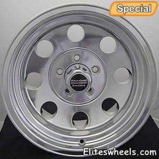 16 Polished Wheels Baja 6x5 5 Silverado K1500 Tahoe Yukon Rims