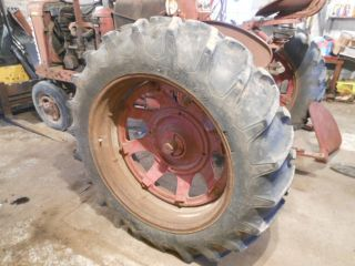 IH Farmall 15 5 x 38 Firestone Rear Rims Tires Wheels fits Deere