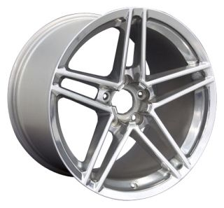 19 9 5 12 Polished C6 Z06 Wheels Set of 4 Rims Fit Corvette