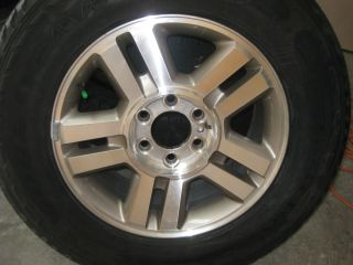18 INCH FORD EXPEDITION F150 NAVIGATOR RIMS AND GREAT GOODYEAR TIRES