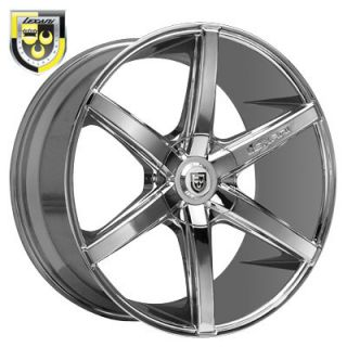 20 Lexani R Six Chrome Rims Wheels 20x8 5 40 5x108 Fits Jaguar s Type