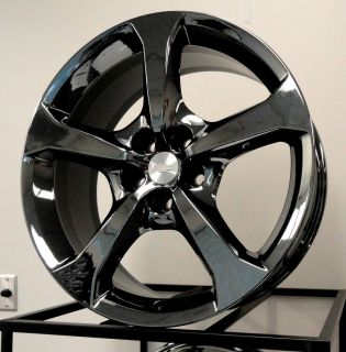 Factory New Style 2013 Camaro SS 20 Black Chrome PVD Wheels