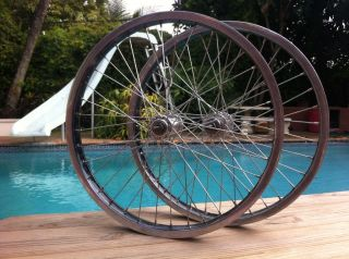 Old School BMX Ukai Speedlines Rims Wheels GT Freestyle Haro Redline