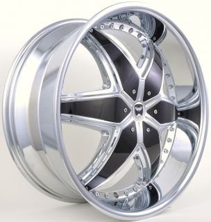 22 CHROME RIMS WHEELS TOYOTA TACOMA TUNDRA SEQUOIA LANDCRUISER 4RUNNER