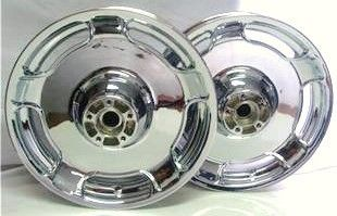 2010 2011 Harley Street Glide FLH Custom Chrome Wheels