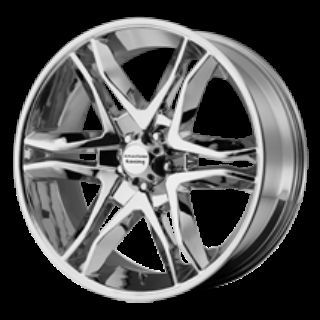 22 WHEELS RIMS AMERICAN RACING MAINLINE CHROME CALIBER NITRO EDGE FLEX
