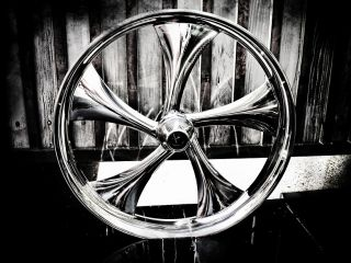 26 inch Custom Motorcycle Wheel for Harley Bagger Touring Twisted