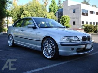 inch BMW 325CI 325i 325xi E46 Wheels Rims and Tires GT1 Silver