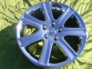 17 New Lexus ES350 Chrome Wheels Rims Exchange