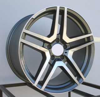 19 S65 AMG Style Wheels Rims Fit Mercedes E240 E320 E500 E55 E63 1995