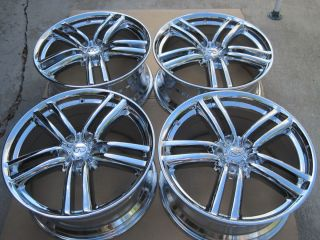 New Chromed Original Factory Infiniti M45 Wheels Only No Tires