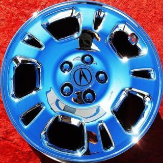 OF 4 NEW ACURA MDX TL 17 OEM CHROME WHEELS RIMS TSX RSX EXCHANGE 71713