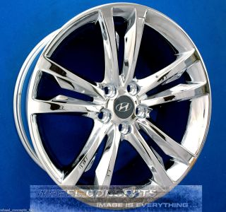 Hyundai Genesis Coupe 19 inch Chrome Wheel Exchange Rims