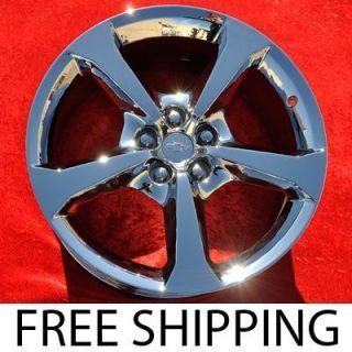 New Chrome 20 Chevrolet Camaro OEM Factory Wheels Rims NH1392 EXCHANGE