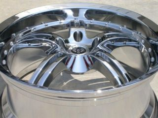 20 Stern Chrome Wheels Rims BMW 5 6 7 8 Chevrolet S10 GMC Jaguar