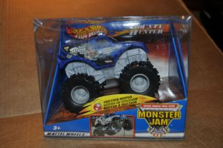 Hot Wheels Monster Jam  Bounty Hunter Monster Truck 1 43 Scale Brand