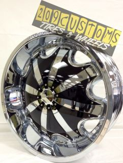 22 INCH RIMS WHEELS TIRES RW130 5X127 CHEVY IMPALA 1992 1993 1994 1995