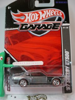 2011 Hot Wheels Garage GM vs Ford 67 Shelby Gt500★redlines★zamac