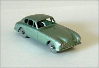 Vintage Matchbox Moko Lesney 53 Aston Martin Metal Wheels 1958
