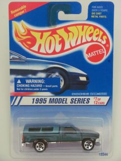 Hot Wheels 1995 Model Series Dodge RAM 1500 Coll 348