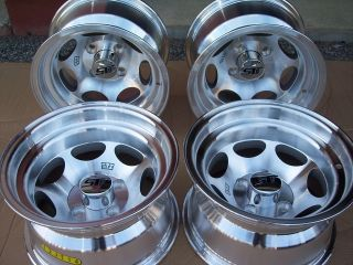 12 XM40 Machined Golf Cart NASCAR Style 23 Tire Wheel Kit 23x10 50